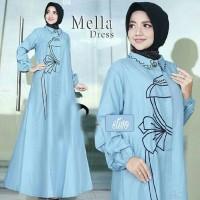 mella dress / pesta / jual baju murah grosir /busana Muslim gamis