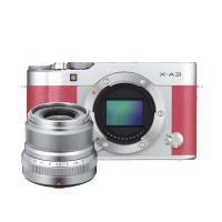 Fujifilm X-A3 Body XF23mm f/2.0 Kamera Mirrorless - Pink