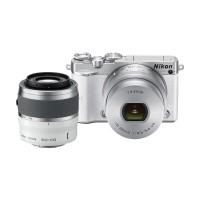 Nikon 1 J5 Kit 10-30mm with 30-110mm Double Lens Kamera Mirrorless -