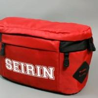 Tas Pinggang Anime Kuroko No Basuke SEIRIN Merah - Waistbag Basket