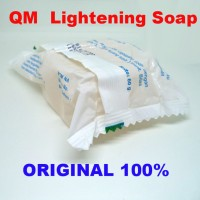 [ KUNING QM LIGHTENING ] QM LIGHTENING - SABUN QM WHITENING BPOM MURA