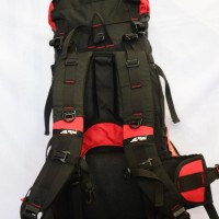 Tas Gunung Carrier Hiking Outdoor Merk REI 60L+10L