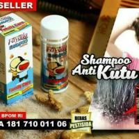 Shampo / Shampoo Anti Lice Obat membasmi kutu rambut anak Original