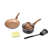 Panci Set/Panciku by Neoflam Non-Stick Alumunium Cookware Set [5pcs]