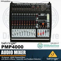 Behringer PMP4000 / PMP 4000 16 Channel Powered / Power Mixer Audio