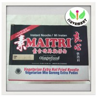 Maitri Liang Xin Mian Vegetarian Mie Instant Goreng Extra Pedas / Dus