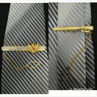 Jepit Dasi Penjepit Dasi Garuda kuningan emas mengkilap ORIGINAL