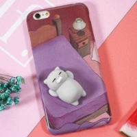 Case Squishy Cartoon Cute for iPhone 6/6s / Aksesoris Casing Cover