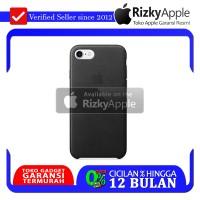 Apple Original Case Casing iPhone 8 Leather Black BNIB