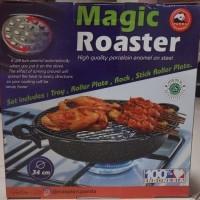 Maspion Magic Roaster Alat Panggang Panggangan Gril Pemanggang 34cm