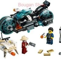 Lego Ultra Agents 70167 Invizable Gold Getaway - ORI