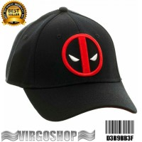 Topi FLEXFIT ORIGINAL DEADPOOL Best Quality virgoshop clothing