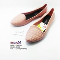 Sepatu karet wanita / Jelly shoes / Sepatu flat wanita / 006
