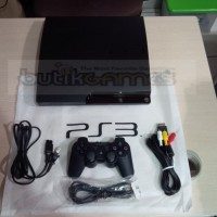 (Dijamin) Sony PS3 Slim CFW Playstation 3 120 GB 1 Stick Ori Pabrik