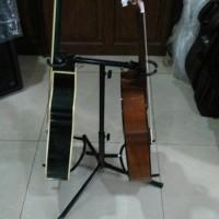 Harga murah stand gitar double lock | Pembandingharga.com