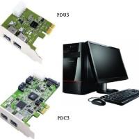 (Dijamin) Transcend - EXPANSION CARD PDU3 USB 3.0