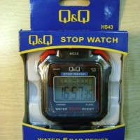 (Diskon) Stopwatch - Misc Brand - Q&Q HS-43