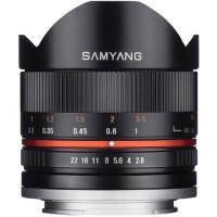 Samyang 8mm, 8 mm f/2.8 Fisheye II for Fujifilm, fuji X Mount