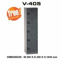 locker 5 pintu merk VIP type V 405 SUPER