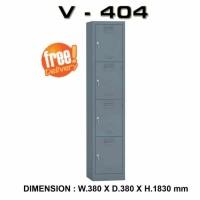 locker 4 pintu merk VIP type V 404 SUPER