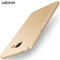 WEIKA Baby Skin Ultra Thin Matte Hard Case for Samsung A5 2017 Gold