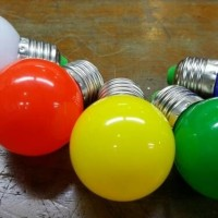 (Sale) Lampu Led 1 W Pioline E27/ Lampu tidur warna warni