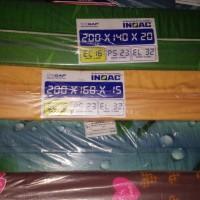 Kasur Busa INOAC  Size 140 x 200 x 20cm D16 Paket Ekonomis Berkualitas