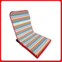 Kursi lesehan / kursi malas motif rainbow garis nyaman