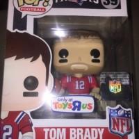 Funko Pop! #39 NFL Tom Brady Toys R Us Exclusive Vinyl Figure THROWBAC