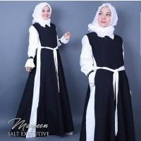 Maureen Dress - Baju Muslim Wanita - Fashion Hijab Terbaru - Gamis