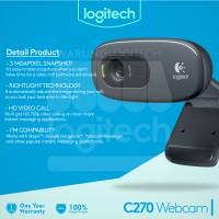 Logitech C270 HD Webcam Garansi 1 Tahun