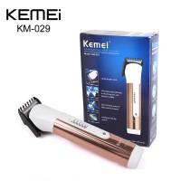 KEMEI KM-029 Rechargable Cordless Electric Hair Clipper Trimmer