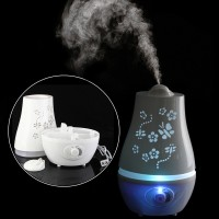 Carved Butterfly Flower Ultrasonic Aroma Humidifier Diffuser -2.2 L