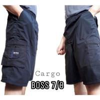 Celana Pendek Cargo 7/8 Katun Boss