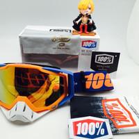 TERLARIS kacamata goggel kacamata motor cross 100 persen d347e929e3