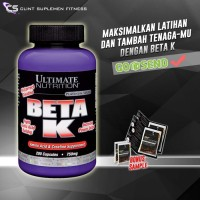 UN Ultimate Nutrition BETA K 750mg 200 caps Beta-K BETAK