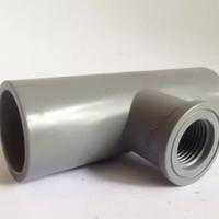 Harga fitting pvc viniilon tee drat dalam 1 2 x 1 tee drat faucet | antitipu.com