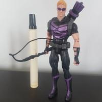 Mainan action figure Marvel legends kw Hawkeye Tinggi 6 inch Artikulas