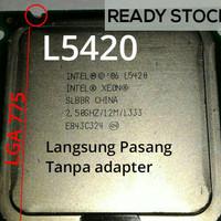 Processor Intel Xeon L5420 Processor LGA 775 (Q9550 core 2 quad)