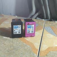 tinta merk hp 60 warna & black seken murah ready stok
