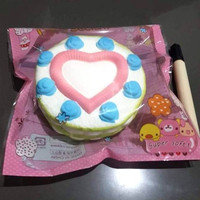 Mainan squishy Hearth cake Soft slow Van marvel