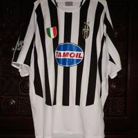 Jersey Juventus Di Vaio Supercoppa 2003 Match Worn Issue Orig