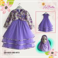 Baju Muslim Anak Gamis Bayi LaBella Tutu GB3-BT3-1220