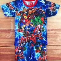 setelan Anak Avengers 2/baju celana Anak gambar kartun printing