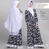 SALE Baju Gamis Wanita-Dress GE 22 Hitam By ELIF