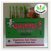 Maitri/LiangSin Mian Mie Instant Vegetarian Rasa Soto (1 pack isi 5bks