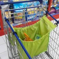 L7567 Grab Bag Green 2 Pcs Trolley bag Kanto KODE V7567