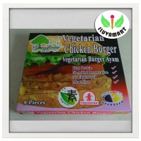Jual Greenfarm Vegetarian Chicken Burger / Daging Ayam Isi Burger 8 pcs Murah