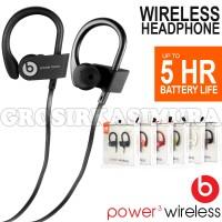 Earphone Beats Power 3 Wireless Sport Headset Bluetooth MR12238