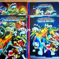 Buku Album Kartu Animal Kaiser 144 Kartu Ukuran Besar 23 x 29 cm